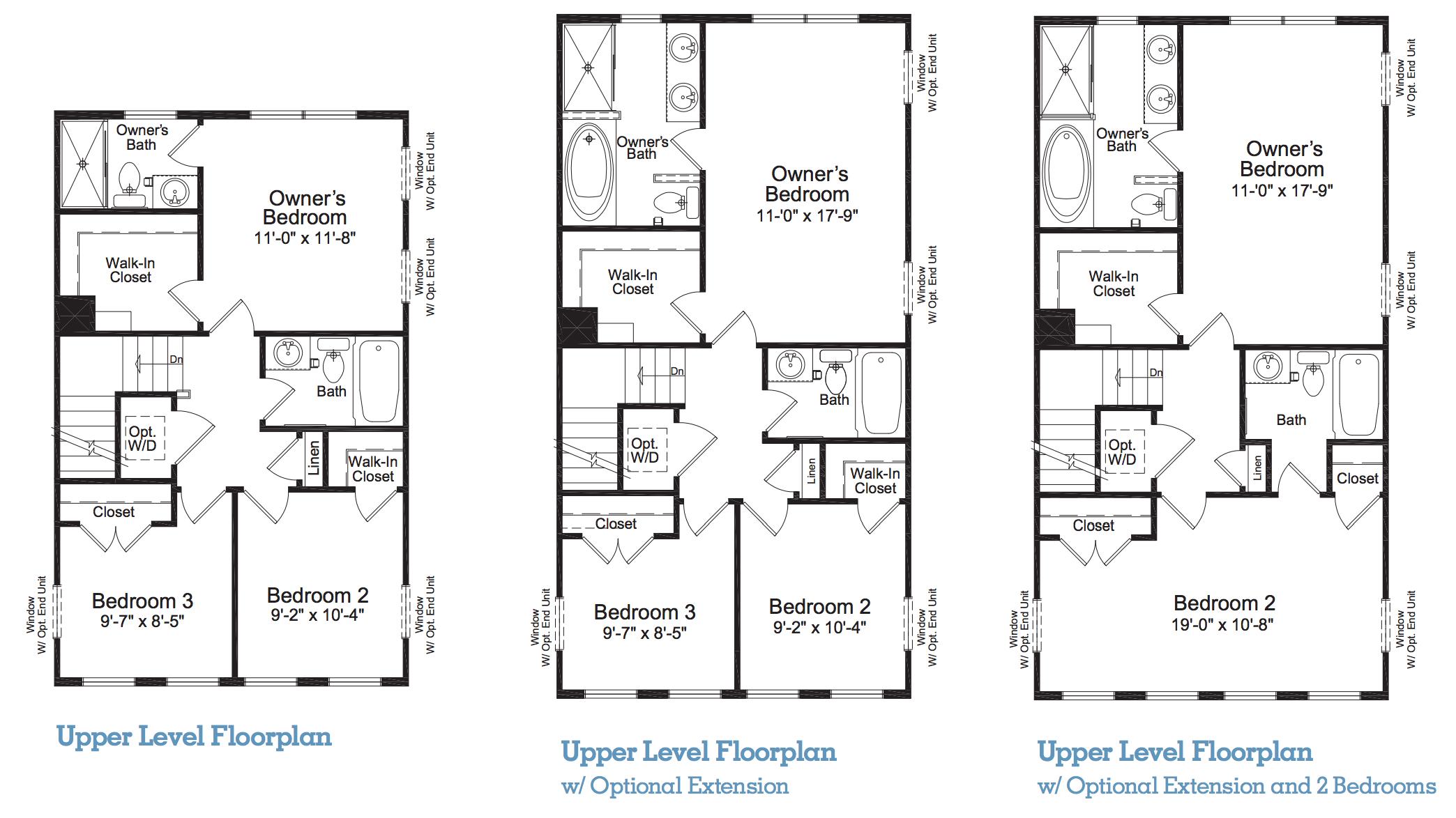 Skyline Townhome Floor Plan